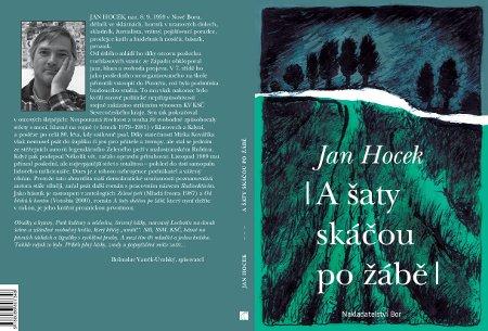 Obálka knihy Jana Hocka, A šaty skáčou po žábě