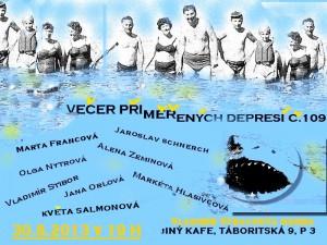 Večer přiměřených depresí č.194 @ Slovenský dům v Praze