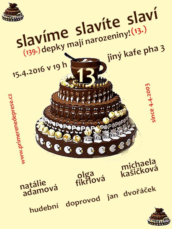 pozvánka na 13 narozeniny Večer přiměřených depresí » Blog Archive » Pozvánka na výroční  pozvánka na 13 narozeniny