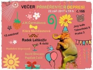 Večer přiměřených depresí č.155 @ Jiný kafe | Česko