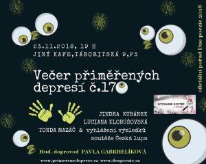 Večer přiměřených depresí č.170 @ Jiný kafe | Hlavní město Praha | Česko