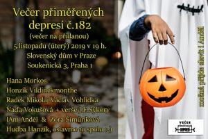 """Depky č. 182 - večer """"na přidanou"""" @ Slovenský dům v Praze"""